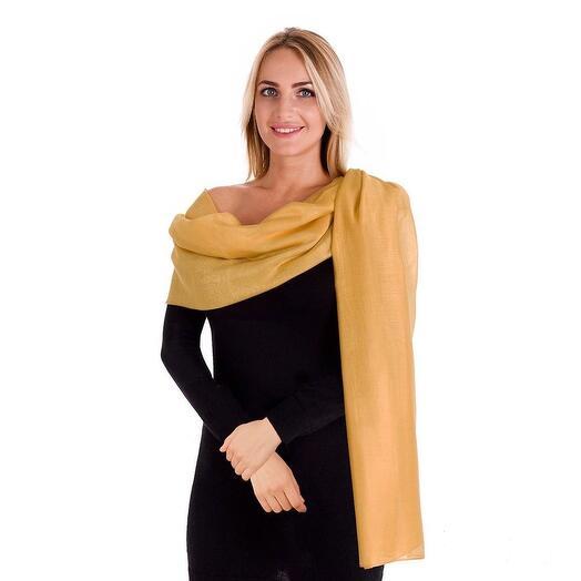 Палантин «Желтый нарцисс» SMD01-3
