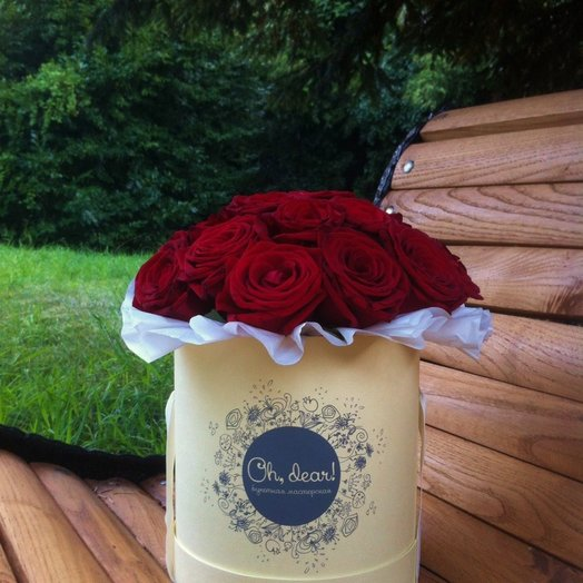 Букет Fiery Heart: букеты цветов на заказ Flowwow