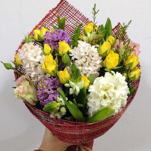 Весеннее настроение Букет: букеты цветов на заказ Flowwow