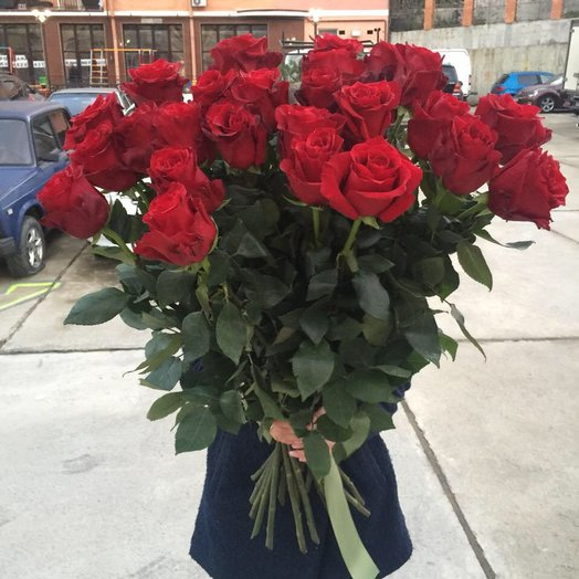 Розы Эквадор : букеты цветов на заказ Flowwow