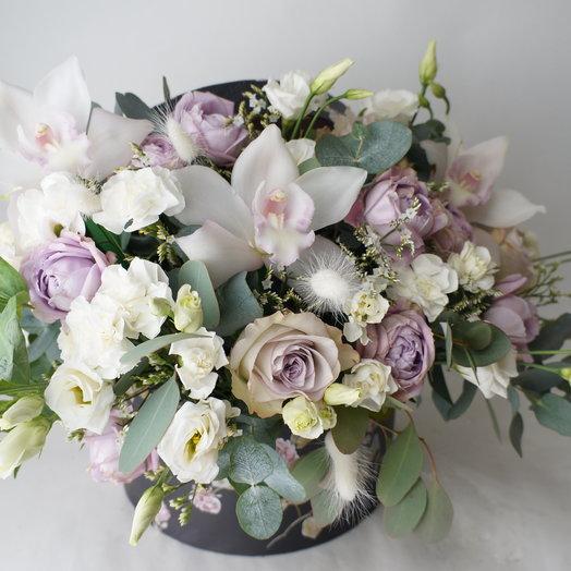 """Аквабокс """"Нежнейший"""": букеты цветов на заказ Flowwow"""