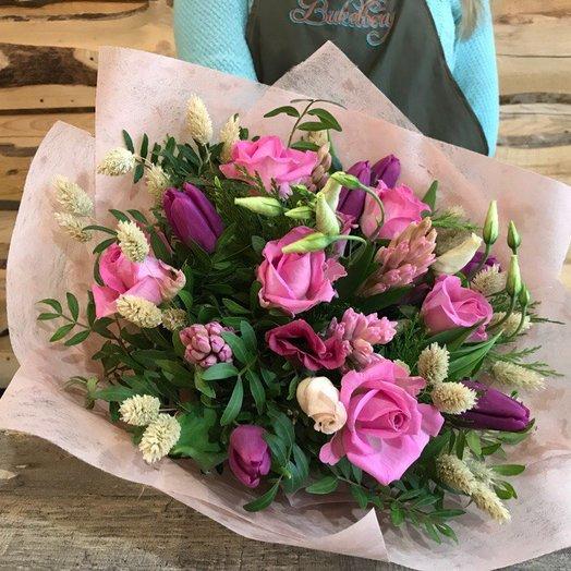 Букет тюльпанами : букеты цветов на заказ Flowwow