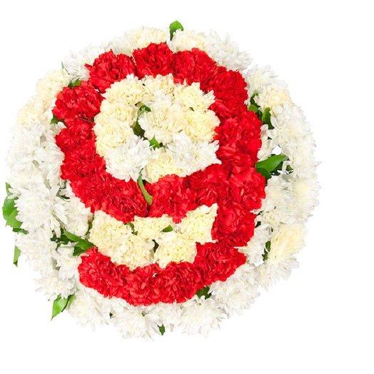 Букет с числом: букеты цветов на заказ Flowwow