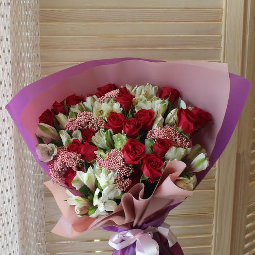 Букет 33: букеты цветов на заказ Flowwow