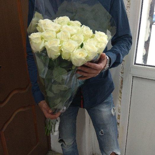 21 роза : букеты цветов на заказ Flowwow