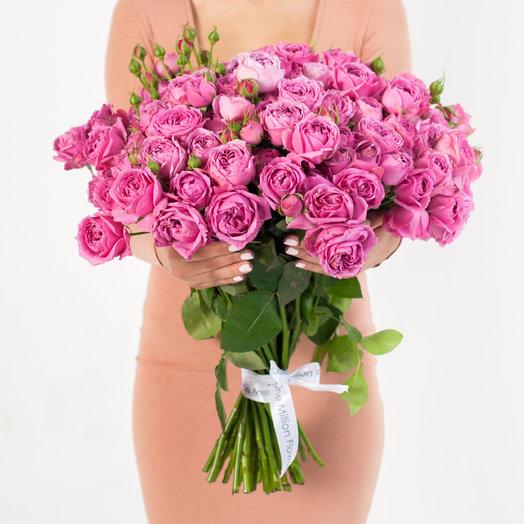 "Букет из 51 ""Мисти Баблз"": букеты цветов на заказ Flowwow"