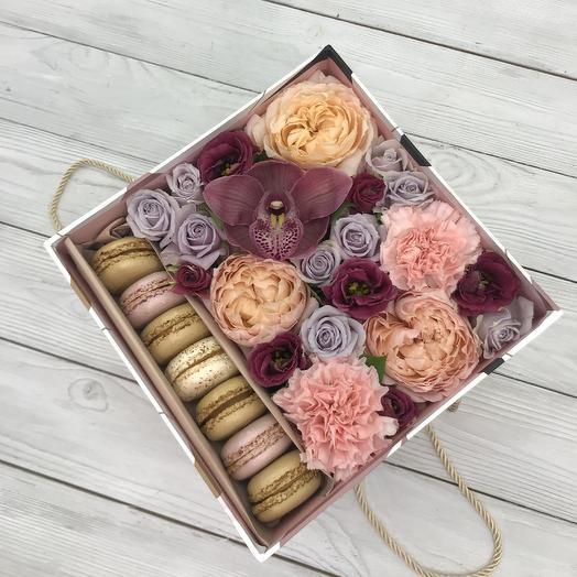 Коробка Стиль: букеты цветов на заказ Flowwow