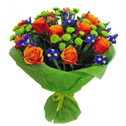 Букет  003: букеты цветов на заказ Flowwow