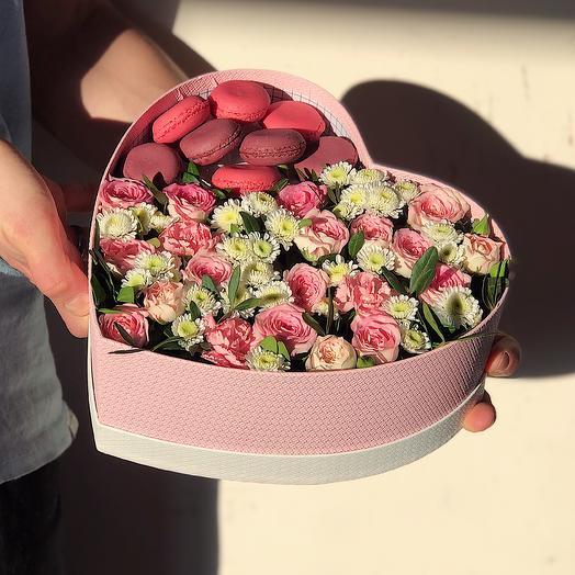 Heart 2 Большое: букеты цветов на заказ Flowwow