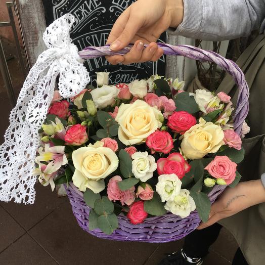 Корзина 9: букеты цветов на заказ Flowwow