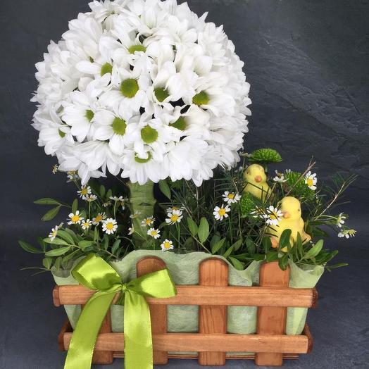 Цветочное дерево: букеты цветов на заказ Flowwow