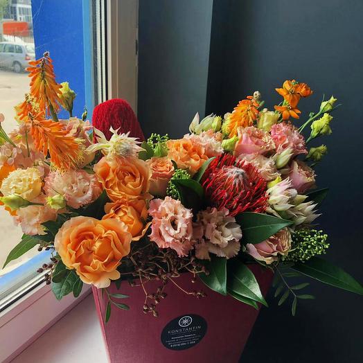 Праздничная экзотика: букеты цветов на заказ Flowwow