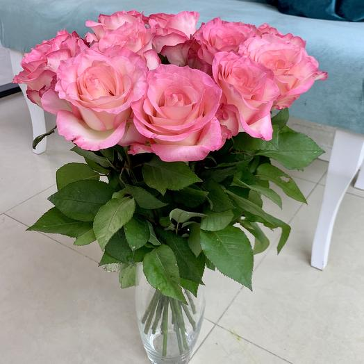 Букет из 15 Кенийских роз  «Булвард»: букеты цветов на заказ Flowwow