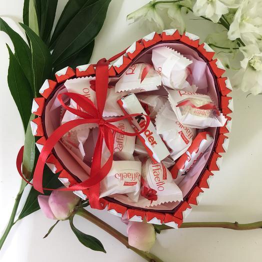 Sweet heart: букеты цветов на заказ Flowwow