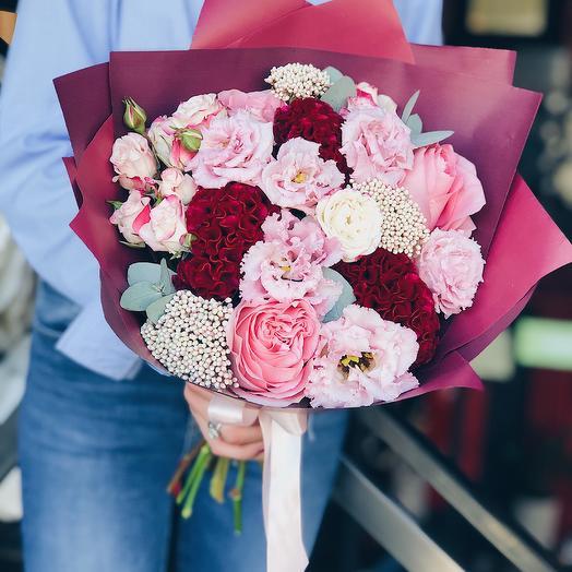 Ягодный джем: букеты цветов на заказ Flowwow