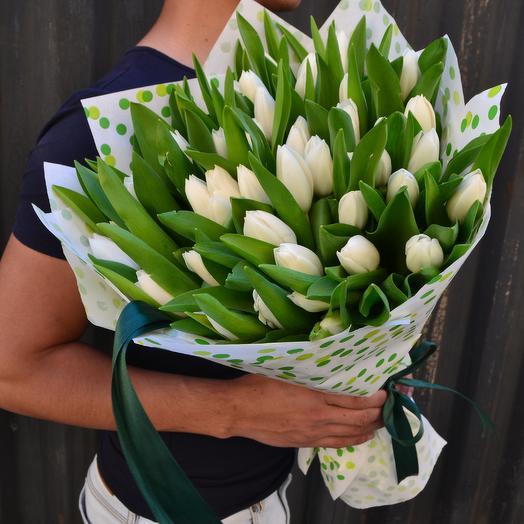 Белый жемчуг: букеты цветов на заказ Flowwow