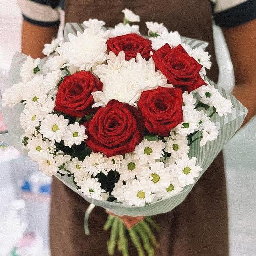 Сердечная благодарность: букеты цветов на заказ Flowwow