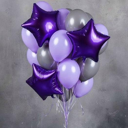 Фонтан Фиолетовая мечта: букеты цветов на заказ Flowwow