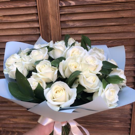 Снежный покров: букеты цветов на заказ Flowwow