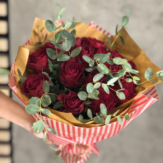 Букет из роз Кения: букеты цветов на заказ Flowwow
