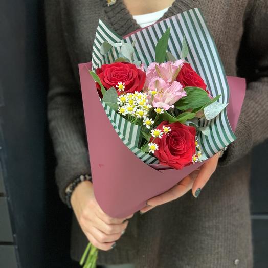 Букет комплимент «примадонна»: букеты цветов на заказ Flowwow