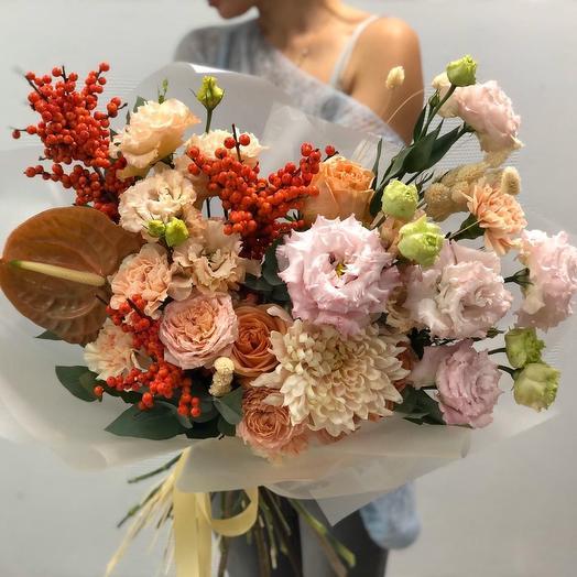 Пряная осень: букеты цветов на заказ Flowwow