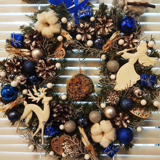 Рождественское украшение: букеты цветов на заказ Flowwow