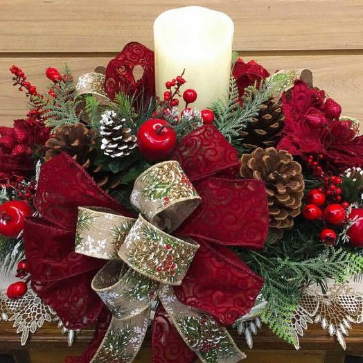 Свет Рождества: букеты цветов на заказ Flowwow