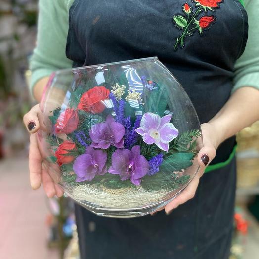 Вечные цветы: букеты цветов на заказ Flowwow