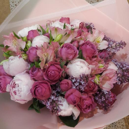 Красотка: букеты цветов на заказ Flowwow