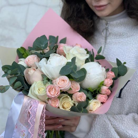 Бу01: букеты цветов на заказ Flowwow