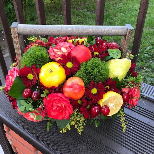 Фруктовое настроение: букеты цветов на заказ Flowwow