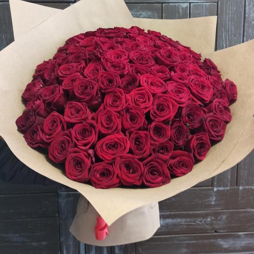 Букет из бархатных роз