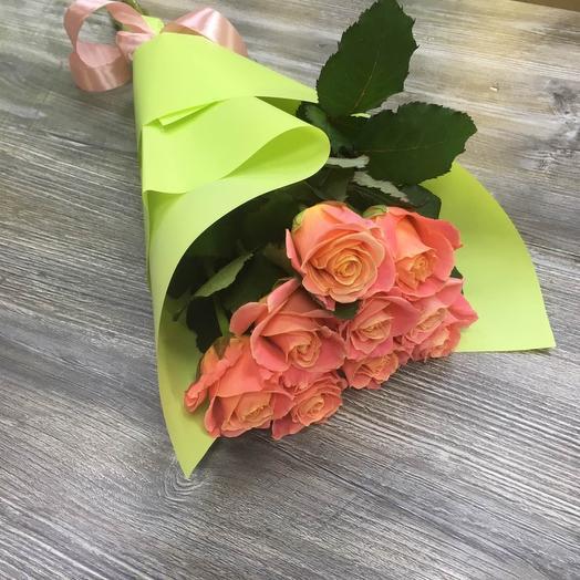 9 роз Мисс Пигги