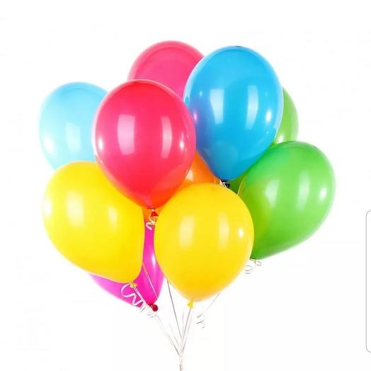 Разноцветные шары 10 шт