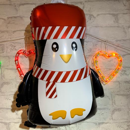 Шар с гелием «Маленький пингвин», 61см