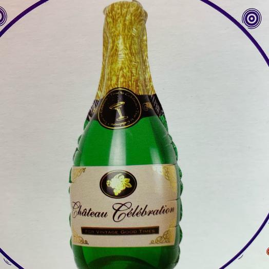 Шар с гелием «Бутылка шампанского», 99см
