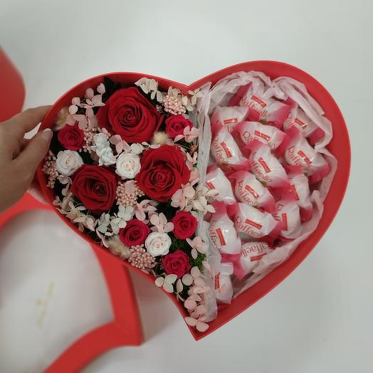 """""""L"""" Цветы в коробке"""