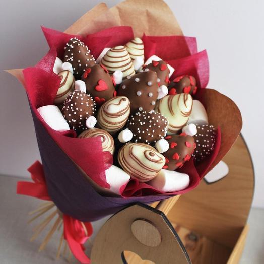 Клубничный шоколадный