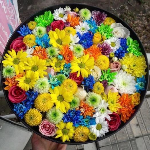 Весна. Микс ярких цветов