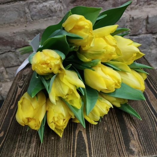 Тюльпан 11шт Yellow