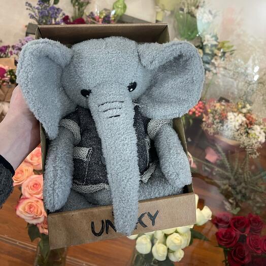 Мягкая игрушка «Очаровательный слон»