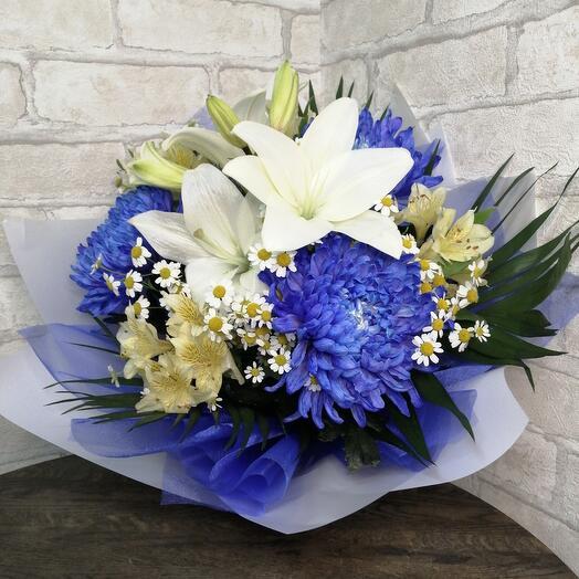 Bouquet of azure