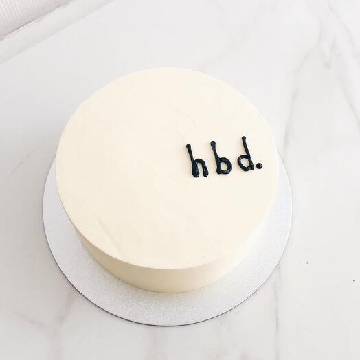 Мини Торт на день рождения (bento cake)