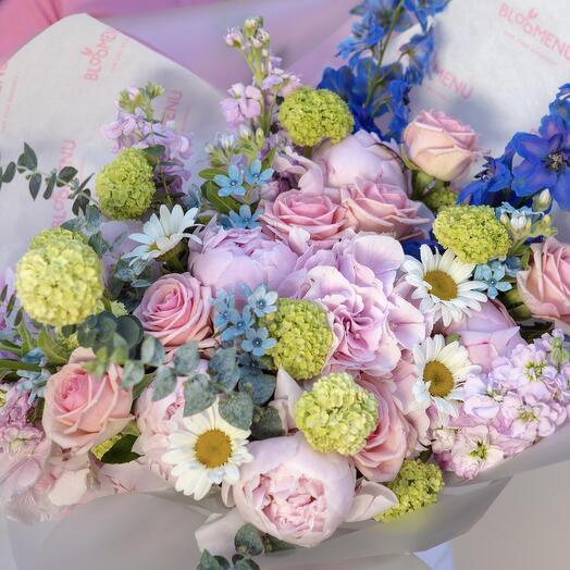 Букет Royal с розой