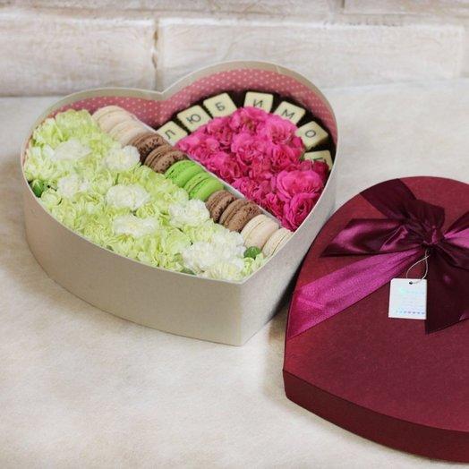 Люблю сильнее день ото дня: букеты цветов на заказ Flowwow