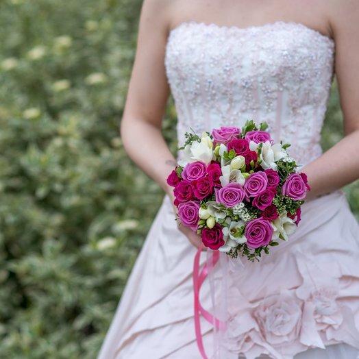 Свадебный букет  10: букеты цветов на заказ Flowwow