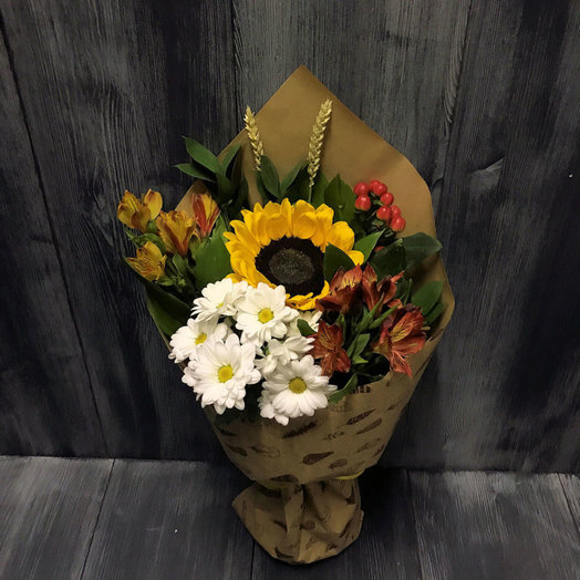 Осенняя пора (Букет 314): букеты цветов на заказ Flowwow