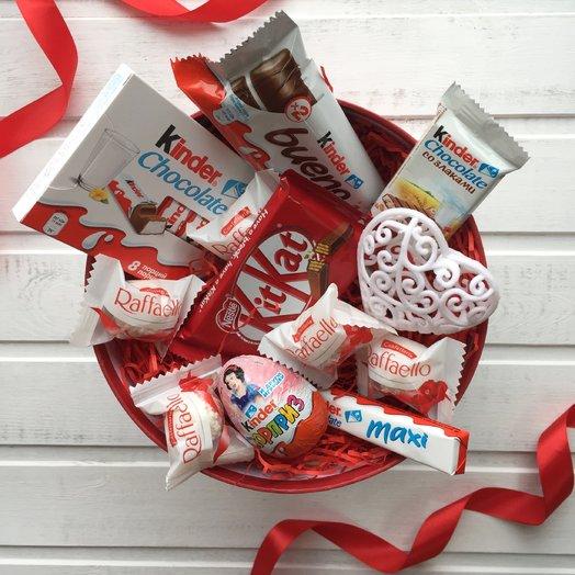 Шоколадное счастье в коробке: букеты цветов на заказ Flowwow