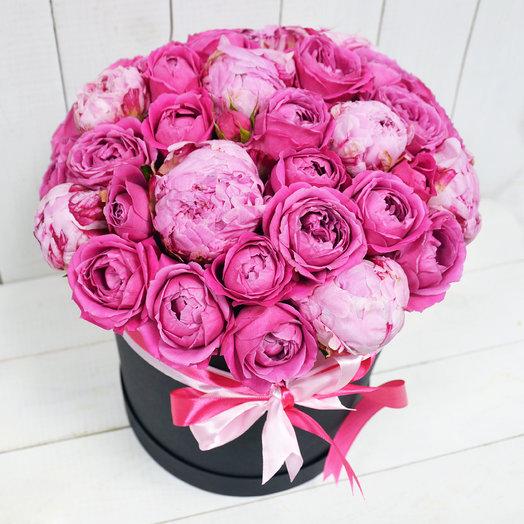VIP Пионы и пионовидные розы: букеты цветов на заказ Flowwow